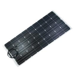 Panneau solaire monocristallin semi-flexible